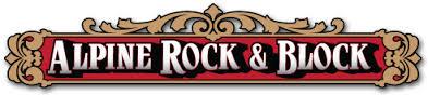 alpine rock and block